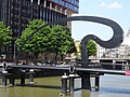 Ibisbrug - Rotterdam - View of the bridge from the west at the Hertekade.jpg