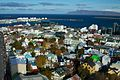 Iceland - Reykjavik 042 - panorama from Hallgrimskirkja cathedral (6571025007).jpg