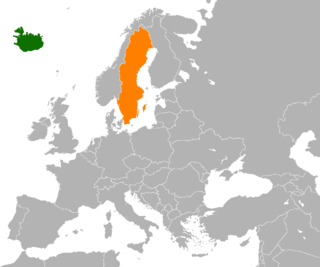 Diplomatic relations between the Republic of Iceland and the Kingdom of Sweden