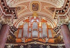 Friedrich Ladegast - The Ladegast organ in the Poznań Collegiate
