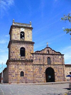 Galán, Santander - Image: Iglesiagalan