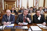 Igor Fyodorov, Vasily Golubev and Andrey Makarov 25 April 2013.jpeg