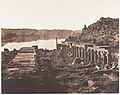 Ile de Fîleh (Philæ), Vue Génèrale Prise du Point I, Sur La Plateforme du Pylône MET DP138843.jpg