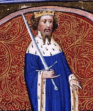 Henry IV of England - Image: Illumination of Henry IV (cropped)