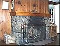 Imnaha Guard Station, Fireplace.jpg