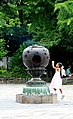 Incense in front of Great Buddha, Kamakura (3801508051).jpg