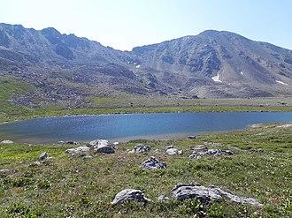 Hunter–Fryingpan Wilderness - Image: Independence Lake