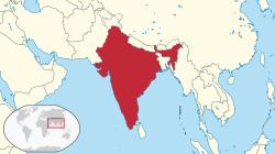 Location of Hindiya