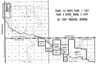 Treaty of St. Mary's - Land grants in Ohio enumerated in Article 3 of this treaty