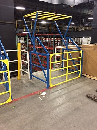 Mezzanine - Industrial safety gate for mezzanines