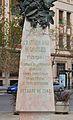 Inscripció del monument a Cavanilles, València.JPG