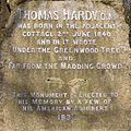 Inscription on the Thomas Hardy monument - geograph.org.uk - 395658.jpg