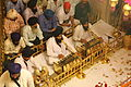 Inside the Hari Mandir Sahib (Darbar Sahib) - Golden Temple (9690079341).jpg
