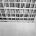 Interieur, begane grond, linker voorkamer, plafond, beschilderde moerbalken - 20000806 - RCE.jpg