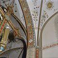 Interieur, beschilderde gewelfaanzet tussen koor en schip, detail, na restauratie - Vierakker - 20346248 - RCE.jpg