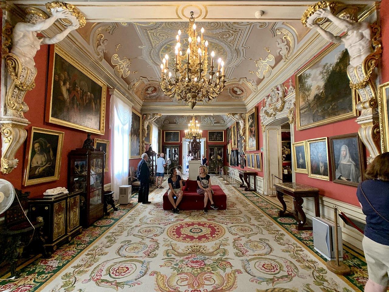 Interior of the Wilanów Palace, Warsaw, Poland 11.jpg