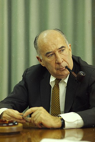 John N. Mitchell - Image: Interview with Atty. Gen. John Mitchell (cropped)