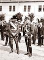 Iosif Berman - Regele Carol al II-lea şi Mareşalul Alexandru Averescu, în august 1930, la o festivitate de la Regimentul de Gardă.jpg