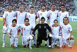 newest collection 07778 5bd47 Iran national football team - Wikipedia