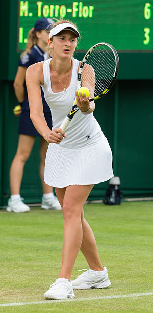 Irina-Camelia Begu - At the 2013 Wimbledon Championships