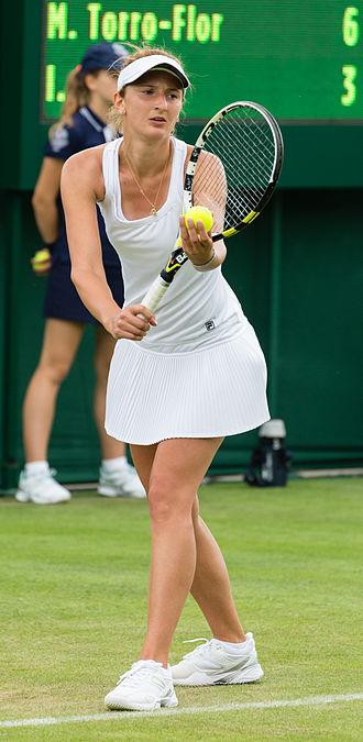 Irina-Camelia Begu - At the 2013 Wimbledon Championships
