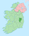 Island of Ireland location map Kildare.svg