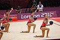 Israel Rhythmic gymnastics at the 2012 Summer Olympics (7915353898).jpg
