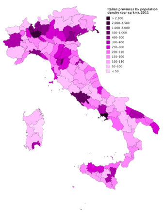 Provincial Map Of Italy.Provinces Of Italy Wikipedia