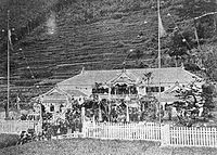 Iwashina school in 1880