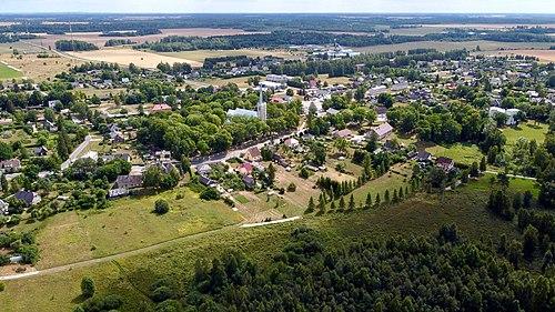 Aerial view of Järva-Jaani