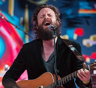 Josh Tillman - Father John Misty performing at the Utopia Fest in 2014.