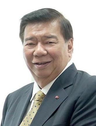 Minority Floor Leader of the Senate of the Philippines - Image: JPPFL Sen. Franklin Drilon (cropped)