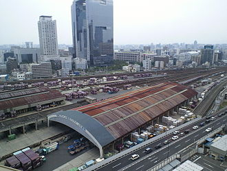 Japan Freight Railway Company - Umeda Freight Terminal in Osaka in June 2011