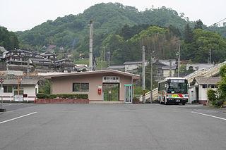 Bitchū-Kawamo Station Railway station in Takahashi, Okayama Prefecture, Japan