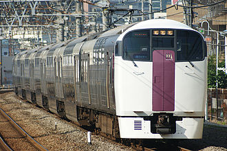 Home Liner - 215 series EMU on a Shōnan Liner service