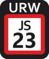 JR JS-23 station number.png