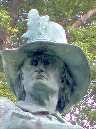 John Mason (c. 1600–1672) - Image: J M face