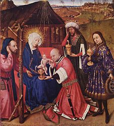 Jacques Daret: The Adoration of the Kings