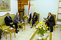 Jalal Talabani Rumsfeld Rice Khalilzad.jpg