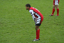 James Bailey Gloucester v Saracens 26 november 2005.jpg