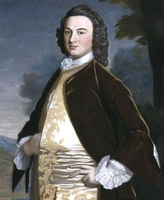 James Bowdoin - Portrait by Robert Feke, 1748