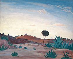James Dickson Innes: Spanish landscape