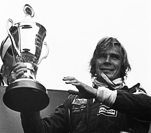 James Hunt - James Hunt at the 1976 Dutch Grand Prix