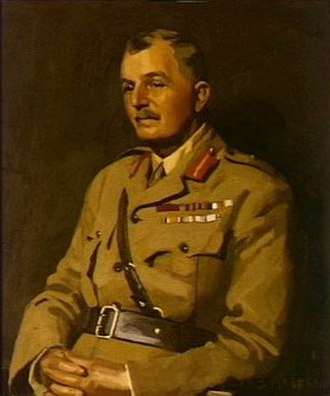 James Gordon Legge - Official portrait of Lieutenant General James Gordon Legge