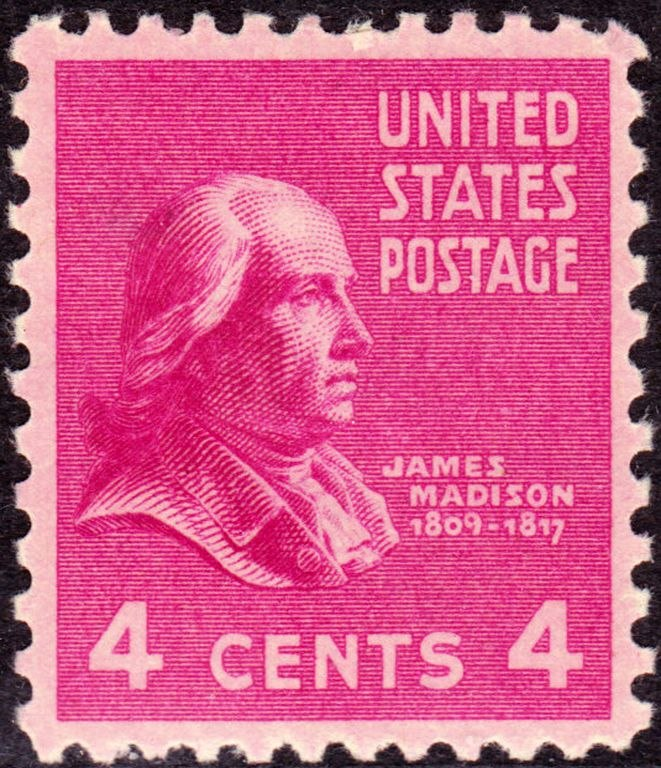 James Madison 1938 Issue-4c