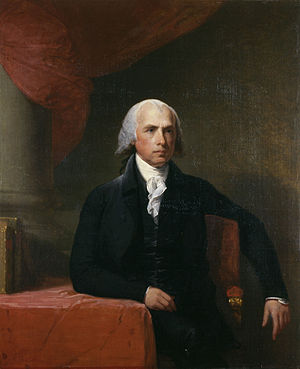 William Eustis - James Madison, portrait by Gilbert Stuart, c. 1805–1807