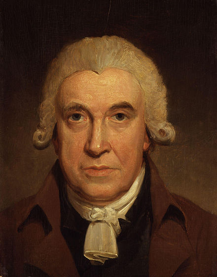 James Watt (1736–1819), inventor of the steam engine, described the concept of a steam hammer - Steam hammer