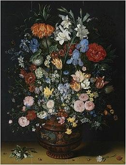 Jan brueghel the elder wikipedia for Bouquet de fleurs wiki