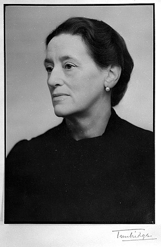 Janet Aitken - Photograph of Janet Aitken from the Medical Women's Federation archives.