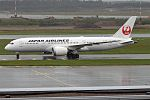 Japan Airlines, JA836J, Boeing 787-8 Dreamliner (29348154815).jpg
